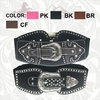 Montana West Western Rhinestone Stretch Buckle Belts CIB-B1217