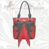 Montana West Flower Leather Fringe RSG-8329
