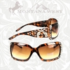 Montana West Crossed Guns Square Frame Sunglasses SGS-001K OUT OF STOCK