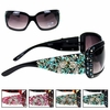 Montana West Turquoise Crossed Pistol Sunglasses SGS-0116