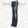 Stretchy Hip Hugger Denim Trinity Ranch Jeans JN-TR007