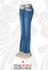 Stretchy Hip Hugger Denim Trinity Ranch Jeans JN-TR019