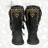Montana West Winter Boots with Fringe SYD-BTS023