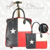 Montana West Texas Flag Luggage TXK-L004