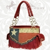 Montana West Texas Fringe Purse TXV-8085