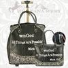 Montana West Bible Quote Luggage VS-L004