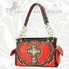 Montana West Crystal Cross Handbags WFL-8085