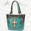Montana West Crystal Cross Handbags WFL-8317