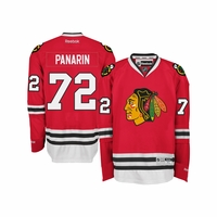 Blackhawks #72 Panarin Premier Jersey - Red
