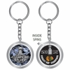 Blackhawks 2015 Stanley Cup Champions Spinner Keychain