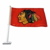 Blackhawks Car Flag