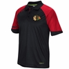 Blackhawks Center Ice 2015 Raglan Polo