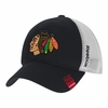 Blackhawks Center Team Slouch Stretch Fit Hat