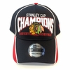 Blackhawks Champs Visor Slide 39Thirty Flex Fit Cap