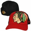 Blackhawks Logo Blimp Flex Fit Hat