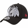 Blackhawks Logo Magnifier Classic Flex Fit Hat
