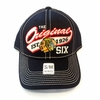 Blackhawks Original 6 Structured Flex Fit Cap