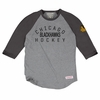 Blackhawks Team Issued 3/4 Slv Raglan Tee