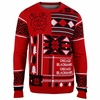 Blackhawks Holiday Patches Ugly Sweater
