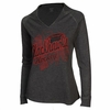 Blackhawks Women's Hooded L/S