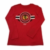 Blackhawks Youth Emblematic LS Tee