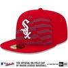 White Sox 2015 Stars & Stripes Diamond Era On-Field Fitted Cap