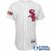 White Sox 2015 Stars & Stripes Home Replica Cool Base Jersey - Blank