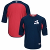 White Sox 2017 AC '83 3/4 Sleeve BP Trainer Jersey - Navy