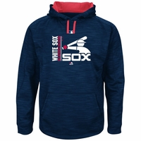 White Sox 2017 AC Team Icon Streak Hoody- Navy