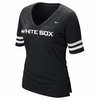 White Sox Banded Arm V-Neck