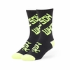 White Sox Helicoil Neon Regular Logo Socks