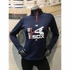 White Sox Women's 2017 AC '83 Team Icon Streak 1/4 Zip Fleece Pullover - Navy