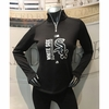 White Sox Women's 2017 AC Team Icon Streak 1/4 Zip Pullover - Black