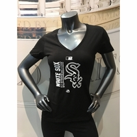 White Sox Women's 2017 AC Team Icon V-Neck T-Shirt