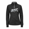 White Sox Women's AC Team Choice 1/4 Zip Pullover - Black