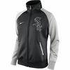 White Sox Women's Fleece Track 2015 - Black/Gray