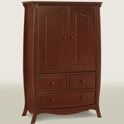 Bella Cinnamon Armoire by Natart