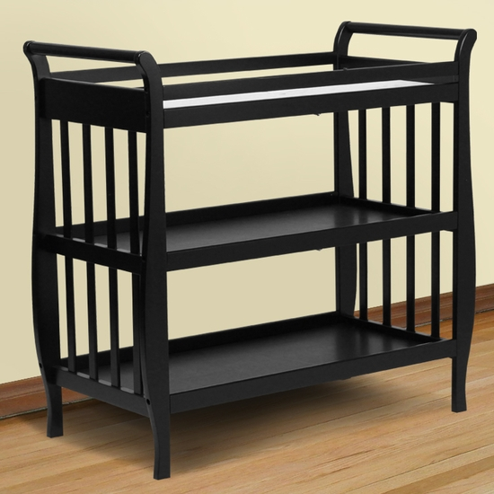 Emily Ebony Changing Table by DaVinci - Click to enlarge