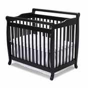Emily Ebony Mini 2 in 1 Convertible Crib by DaVinci