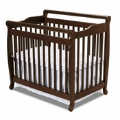 Emily Espresso Mini 2 in 1 Convertible Crib by DaVinci