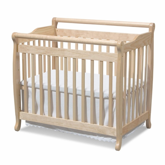Emily Natural Mini 2 in 1 Convertible Crib by DaVinci - Click to enlarge