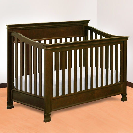 Foothill Espresso 4-in-1 Convertible Crib by Million Dollar Baby - Click to enlarge