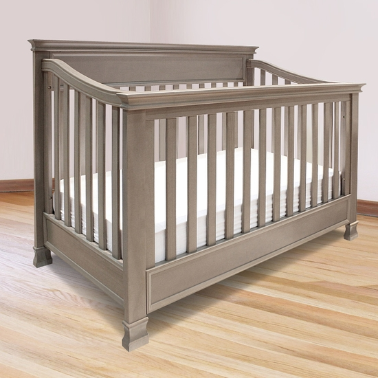 Foothill Weathered Grey 4-in-1 Convertible Crib by Million Dollar Baby - Click to enlarge