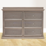 Foothill Weathered Grey 6 Drawer Dresser by Million Dollar Baby