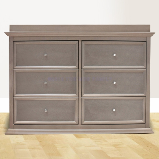 Foothill Weathered Grey 6 Drawer Dresser by Million Dollar Baby - Click to enlarge
