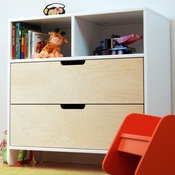 Hiya Birch 2 Drawer Dresser by Spot On Square