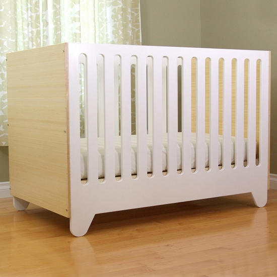 Hiya Birch 3 in 1 Convertible Crib by Spot On Square - Click to enlarge