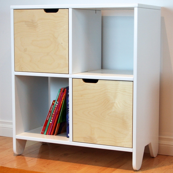 Hiya Birch Bookshelf by Spot On Square - Click to enlarge