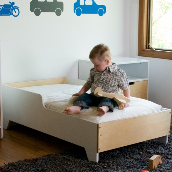 Hiya Birch Toddler Bed by Spot On Square - Click to enlarge
