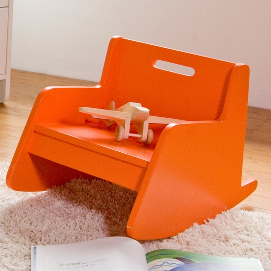 Hiya Orange Rocker by Spot On Square - Click to enlarge